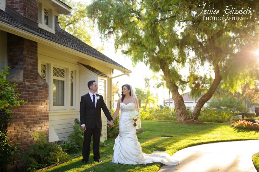 Nixon Library Wedding Photo, Bridal Portraits