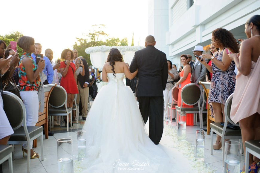 Ceremony, SLS Beverly Hills Wedding