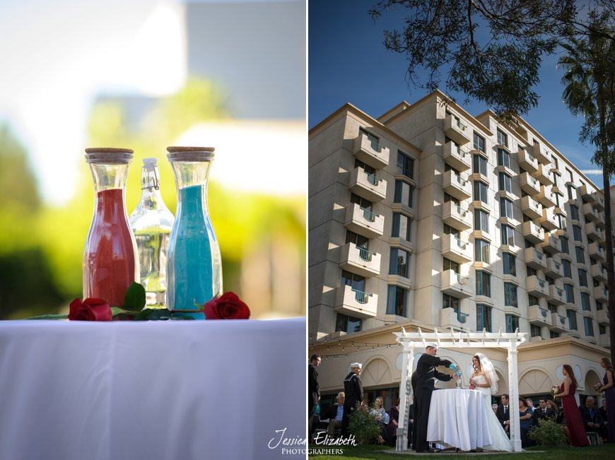 Costa Mesa Marriott Wedding Photography