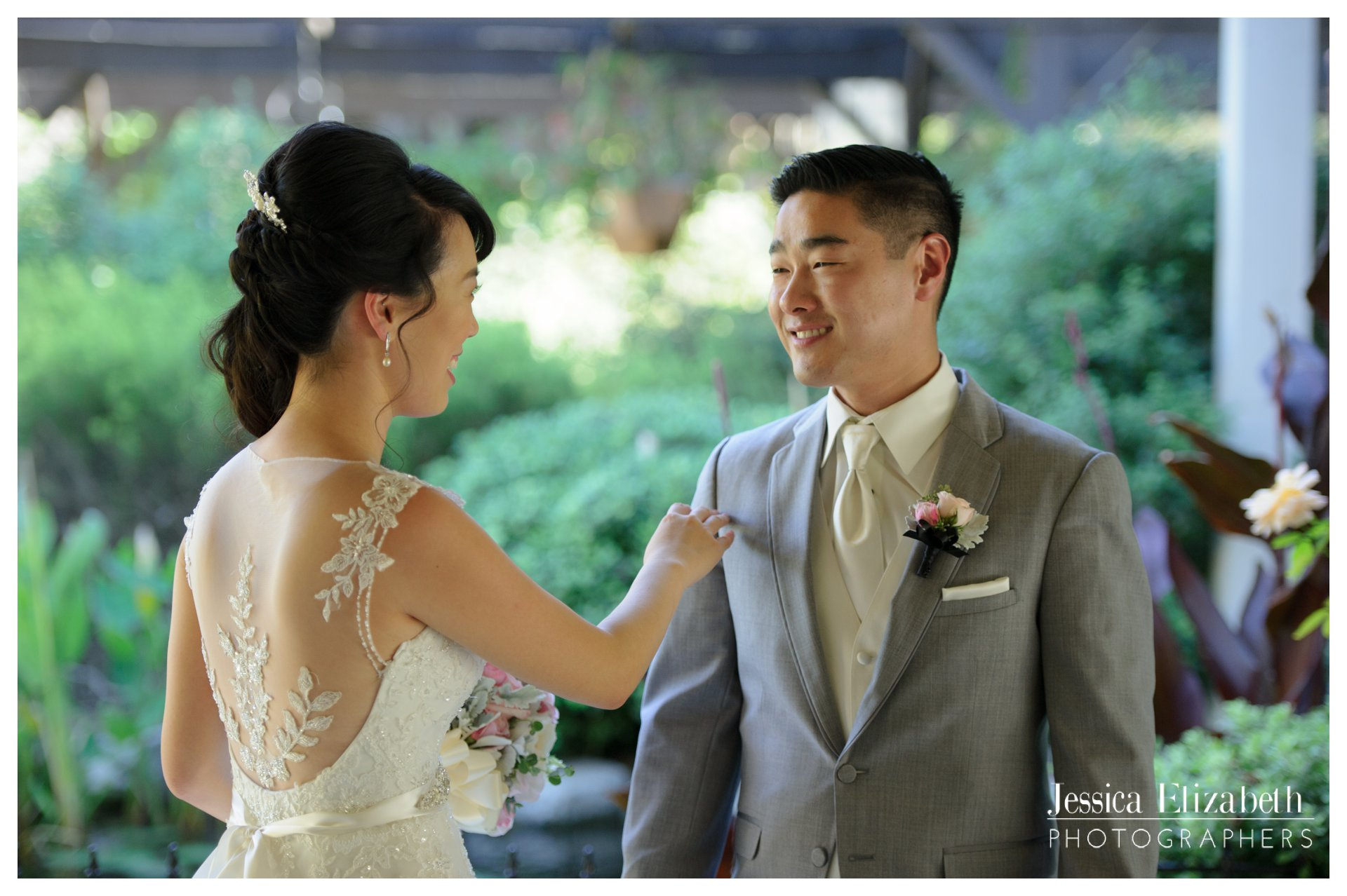 02-South Coast Botanic Garden Palos Verdes Wedding Photography by Jessica Elizabeth