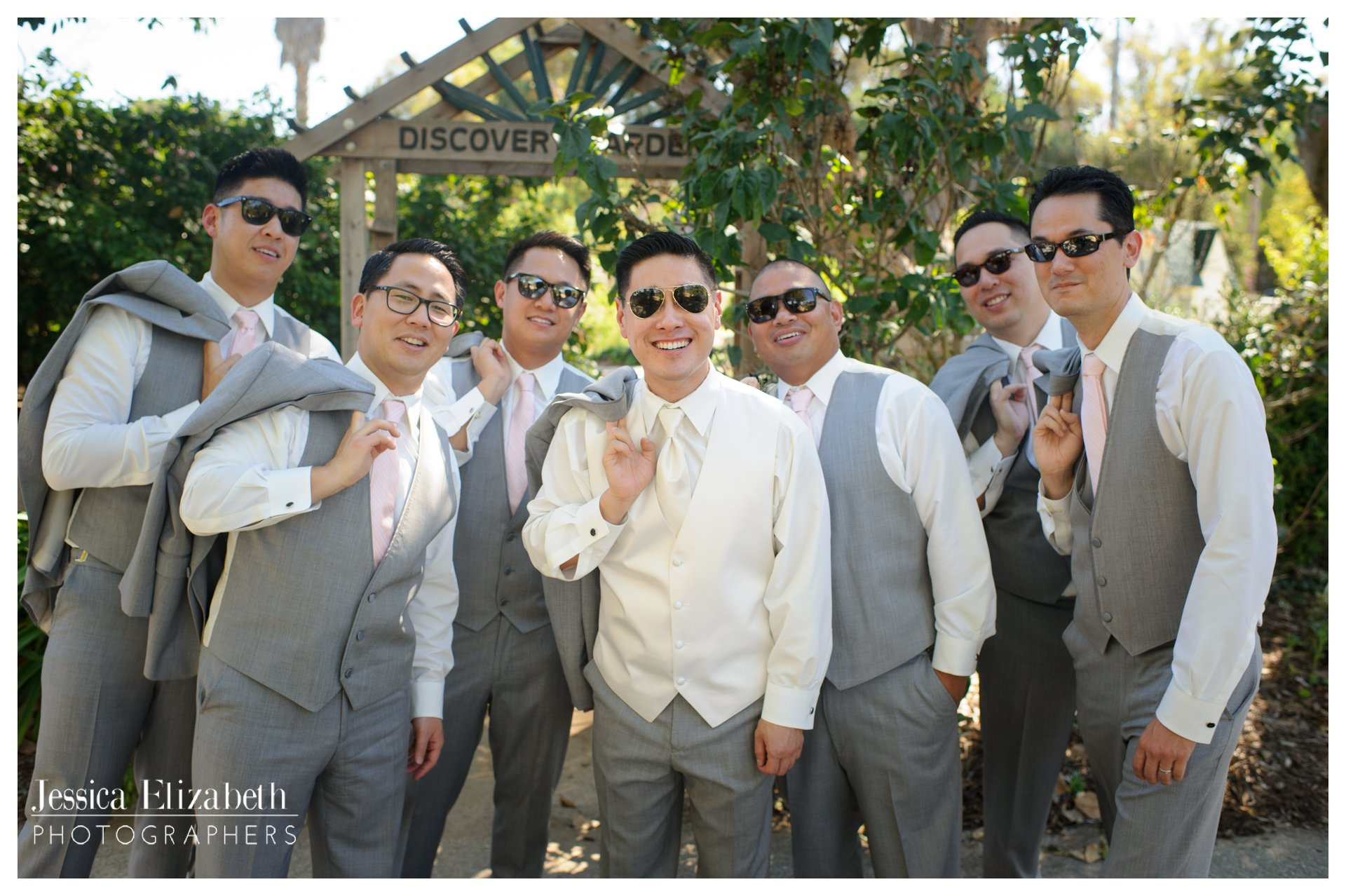 04-South Coast Botanic Garden Palos Verdes Wedding Photography by Jessica Elizabeth