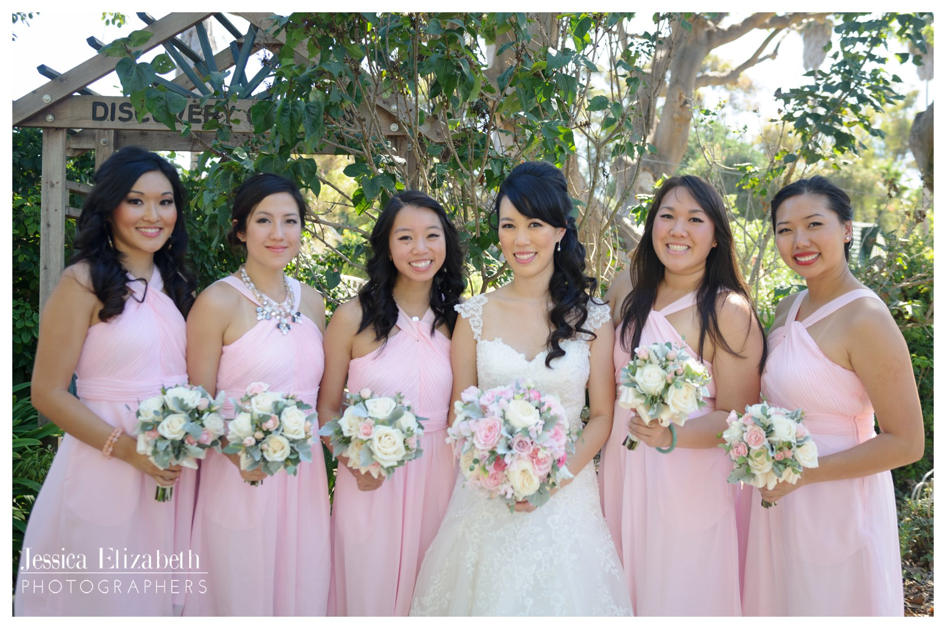 05-South Coast Botanic Garden Palos Verdes Wedding Photography by Jessica Elizabeth