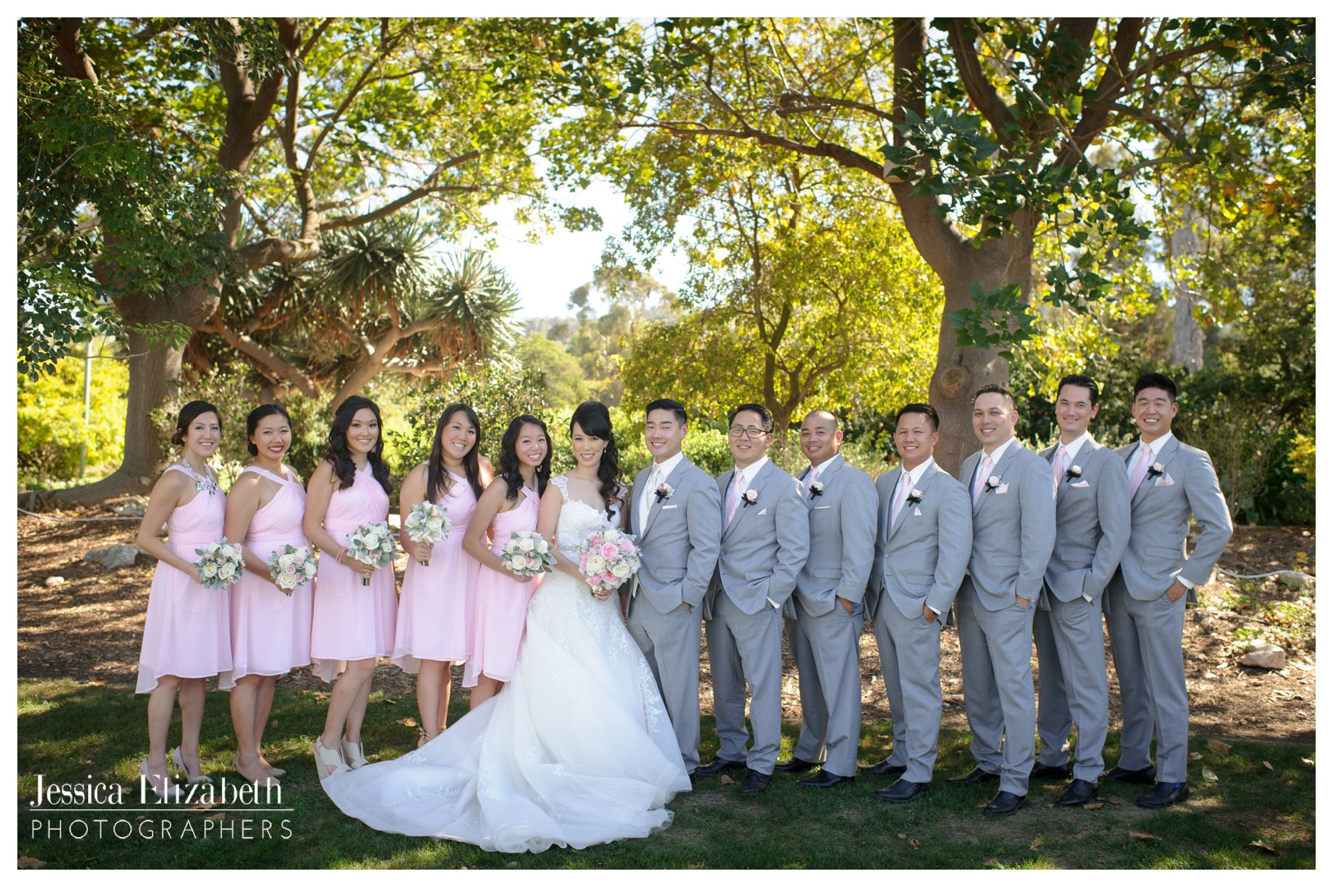 06-South Coast Botanic Garden Palos Verdes Wedding Photography by Jessica Elizabeth