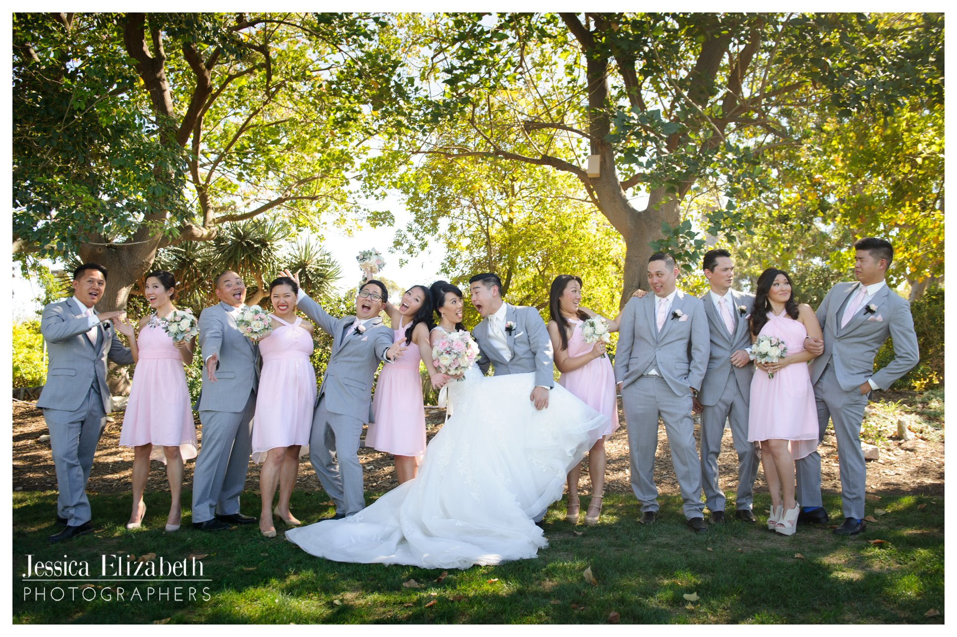 07-South Coast Botanic Garden Palos Verdes Wedding Photography by Jessica Elizabeth