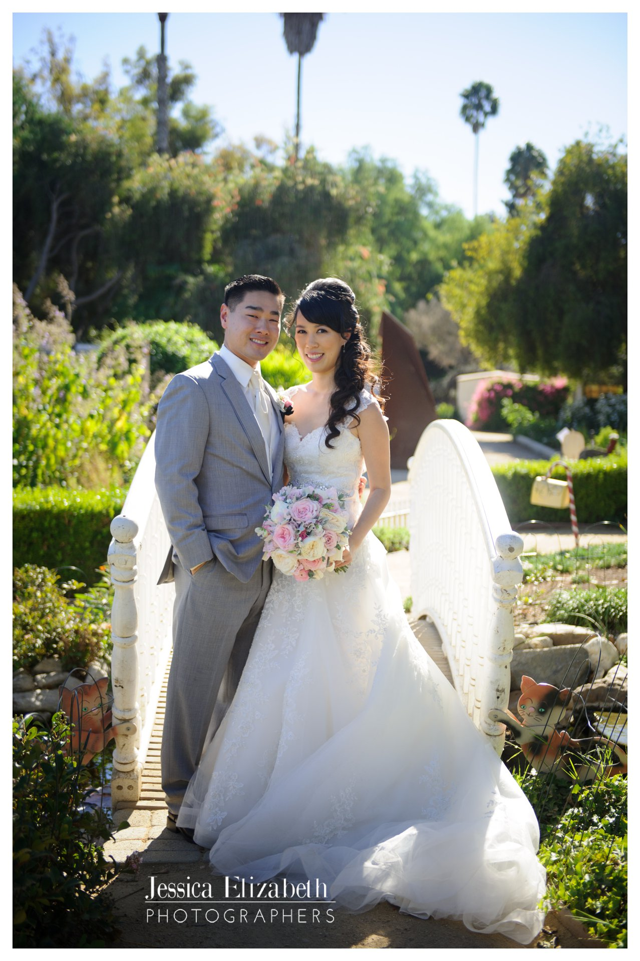 15-South Coast Botanic Garden Palos Verdes Wedding Photography by Jessica Elizabeth